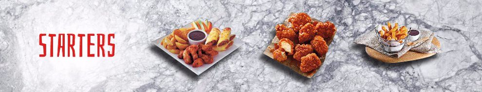 Order Starters and wings Online in Oman