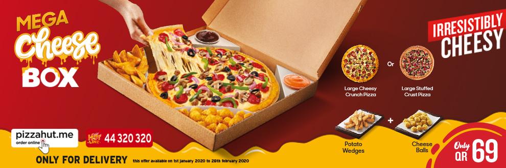Pizza Hut Qatar Order Online Pizza Delivery In Qatar